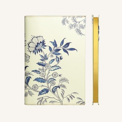 Flower Wow vonalas jegyzetfüzet - A5 , ceramic white