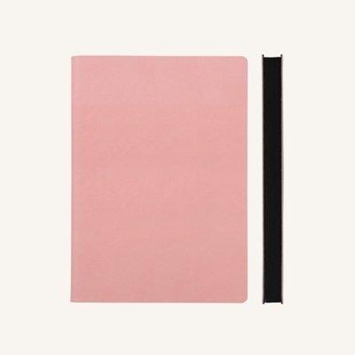 Signature üres lapos vázlatfüzet - A5 , rózsaszín