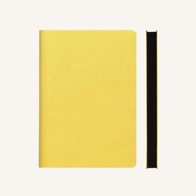 Signature kockás jegyzetfüzet - A5 , sárga