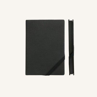 Make My Day vonalas jegyzetfüzet - A6 , fekete