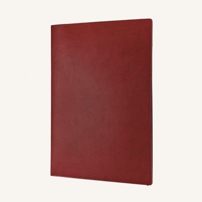 A4 dokumentum mappa -piros