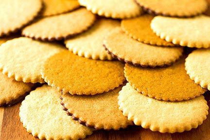 Classic Moravian Sugar Cookie Tube, 2.75oz