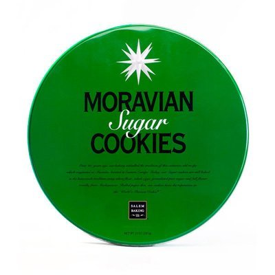 Classic Moravian Sugar Cookie Gift Tin, 13oz