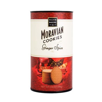 Ginger Spice Moravian Cookie Tube, 4.75oz