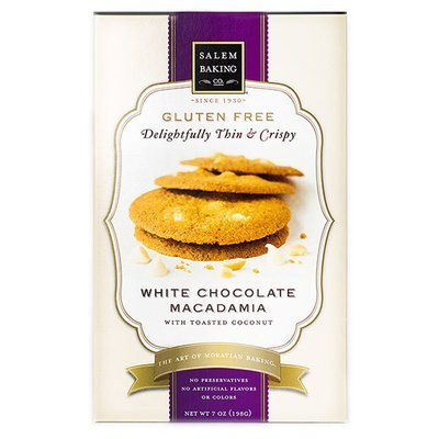 Gluten Free - White Chocolate Macadamia, 7oz