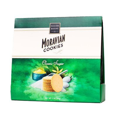 Classic Moravian Sugar Cookie Single Serve, 1oz