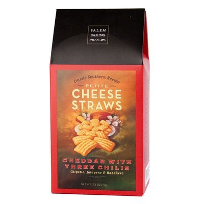 Cheddar with Three Chilis Cheese Straws, 4.5oz