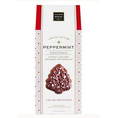 Chocolate Enrobed Peppermint Holiday Shape, 5.5oz