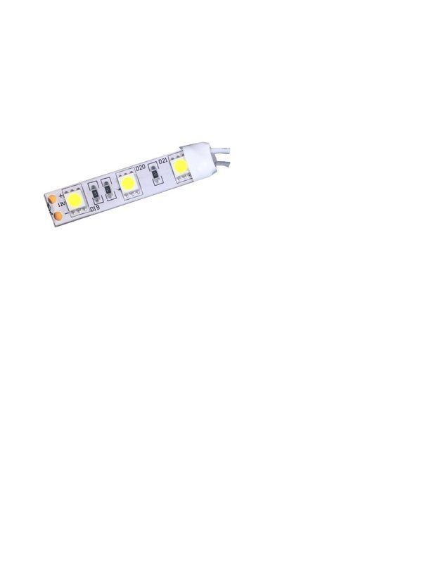 (3X) 50mm LED Strip with adhesive backing