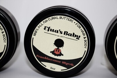 Frankincense/Myrrh 8oz Hair & Body Butter