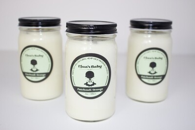 Patchouli/Orange 8oz Soy Candle