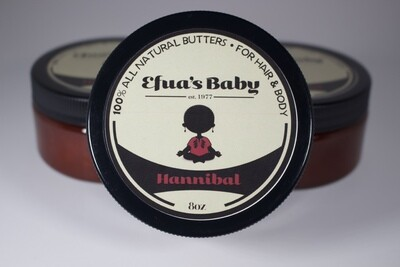 Hannibal 8oz KING Series Body Butters