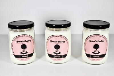 Rose 12oz Soy Candle