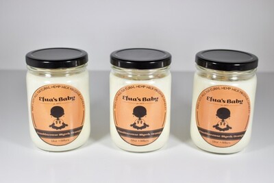 Frankincense/Myrrh/Orange 12oz Soy Candle