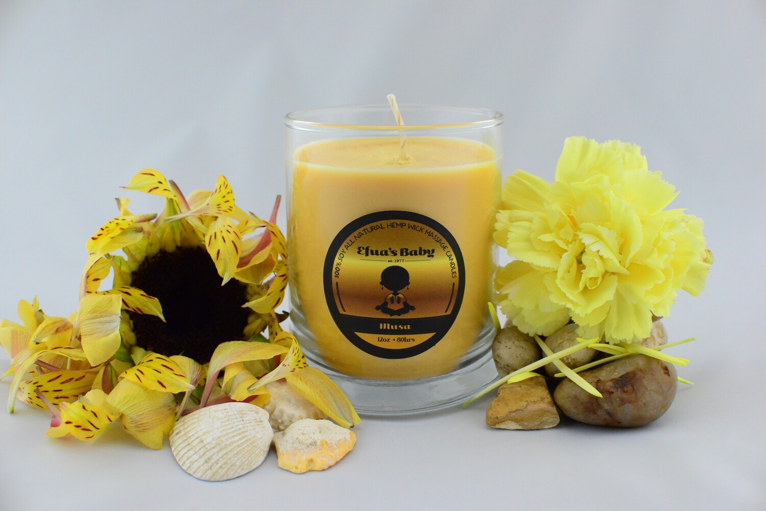 MUSA 8oz KING Series Soy Massage Candle