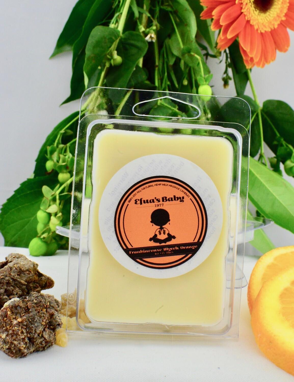 Frankincense/Myrrh/Orange, Soy Aroma Melts