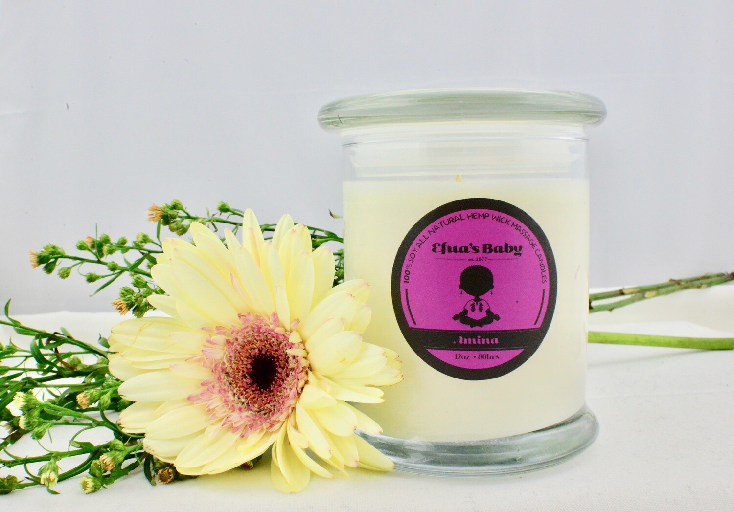 Amina 12oz QUEEN Series Soy Candle