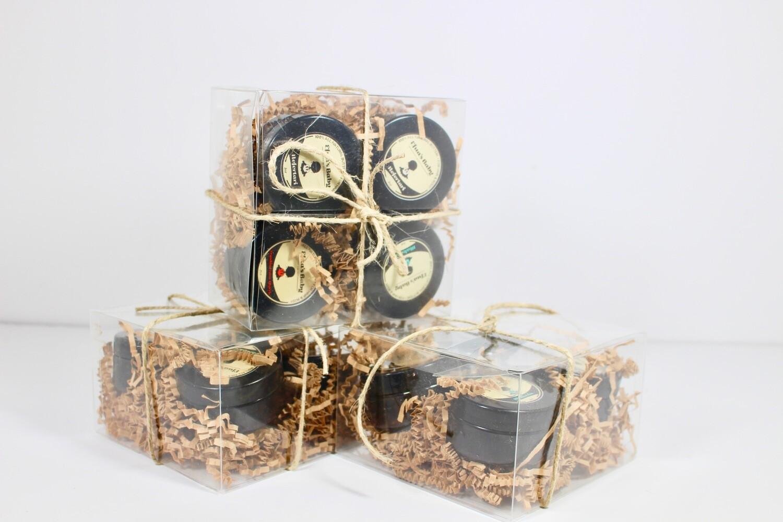 Sample Set- 2oz King Series 4 Butter Box Set
