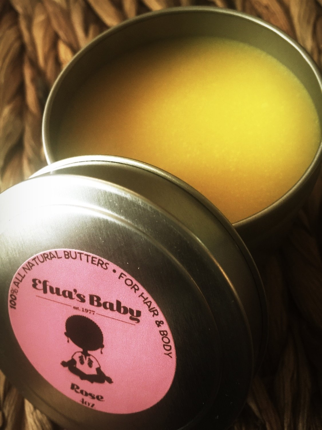 Rose 4oz Hair & Body Butters