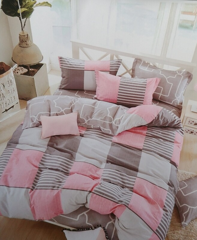 Bickford Home Grid Bedding Set