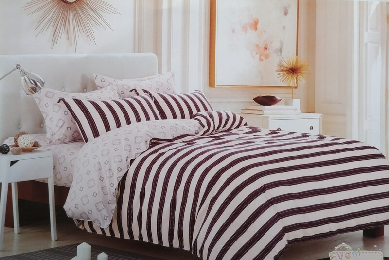 Bedford Stripe Bedding Set