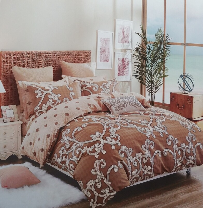 CALDERA BROWN BEDDING SET