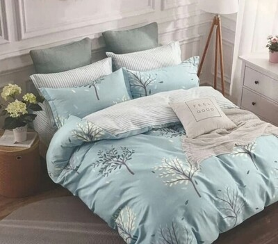 Haverhill Stripe Flowery bedding set