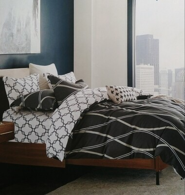 PORTLAND 6 PIECE REVERSIBLE BEDDING SETS