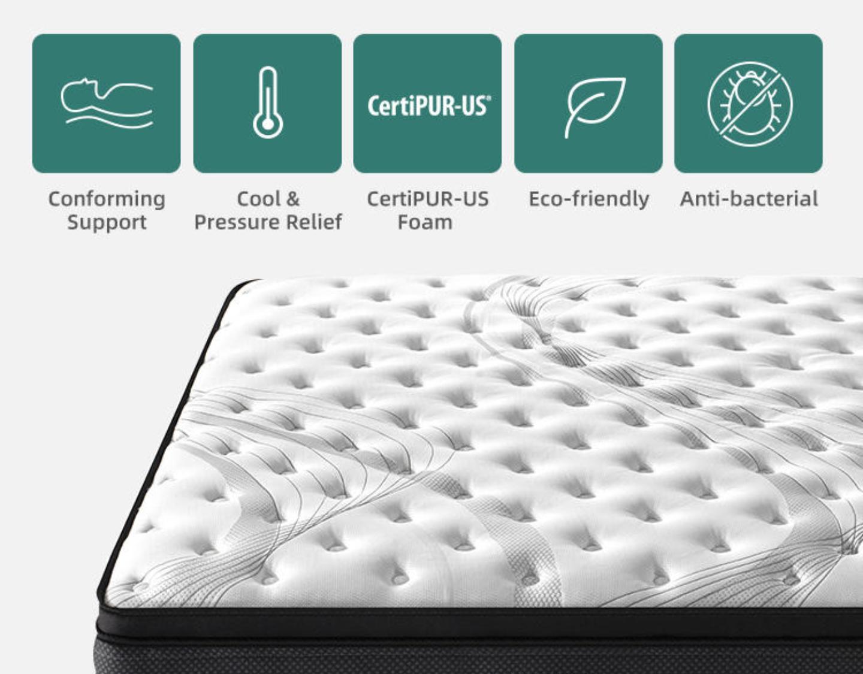 Elite cloud sensation hybrid mattress