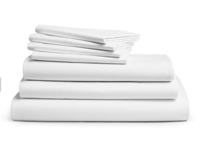DeLuxe White Bedsheet Set