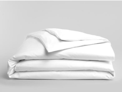 Solid White Duvet Cover