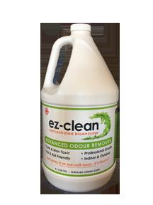 Ez-Clean Concentrated Bioenzyme, Indoor/Outdoor Odor Remover (4 L Jug)