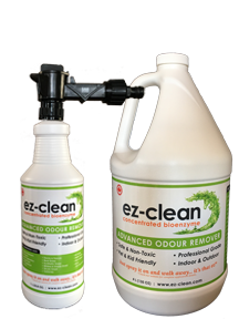 Ez-Clean Concentrated Bioenzyme, Indoor/Outdoor Odor Remover (Home & Yard Package)