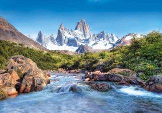 Величие гор. Фотообои достопримечательности. Размер: 291х204см.