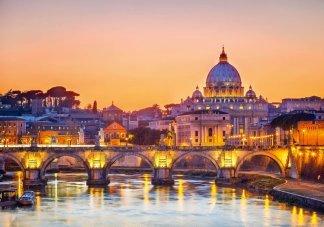 Рассвет над Римом
