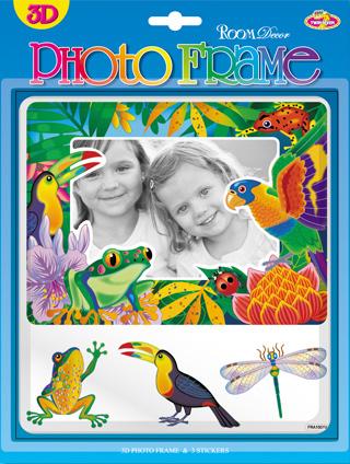 FRA1501V. Фоторамки детские. Размер фотографии: 9х13, 10х15. Количество: 4 элемента. Материал: ПВХ, 3D.