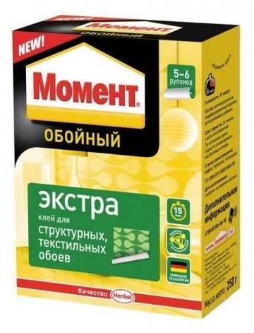 """Клей обойный """" Момент Экстра"""""""