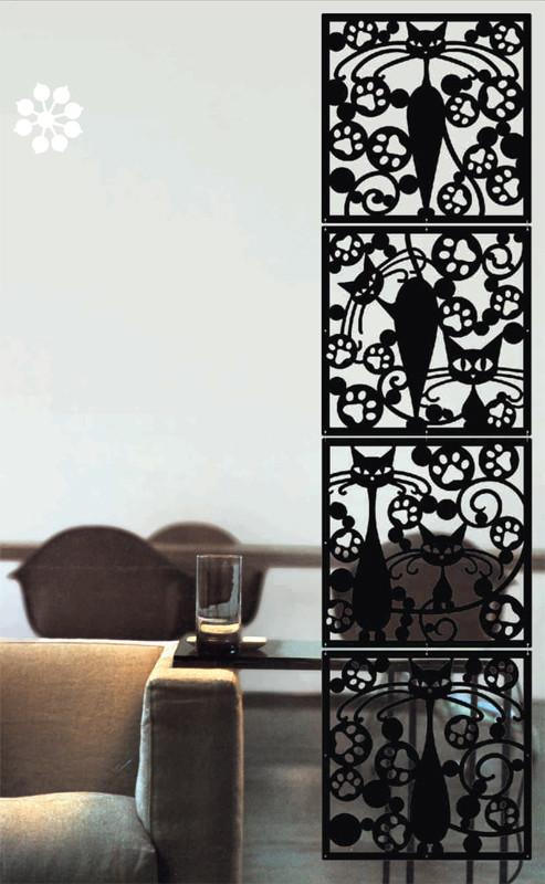 Арт. DECO 162. Декоративные панели для интерьера.  Размеры: 40х40  см. Количество: 4 элементов. Материал: ПВХ.