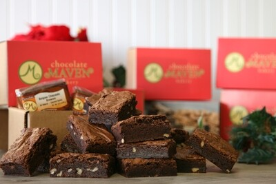 Belgian Chocolate Brownie Box