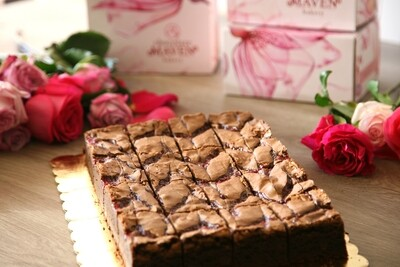 Cherry Chocolate Brownie Box