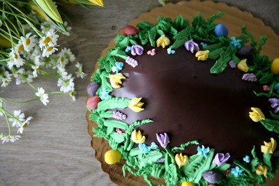 Chocolate Egg Cake