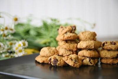 Scottish Highland Oatmeal Raisin Cookies