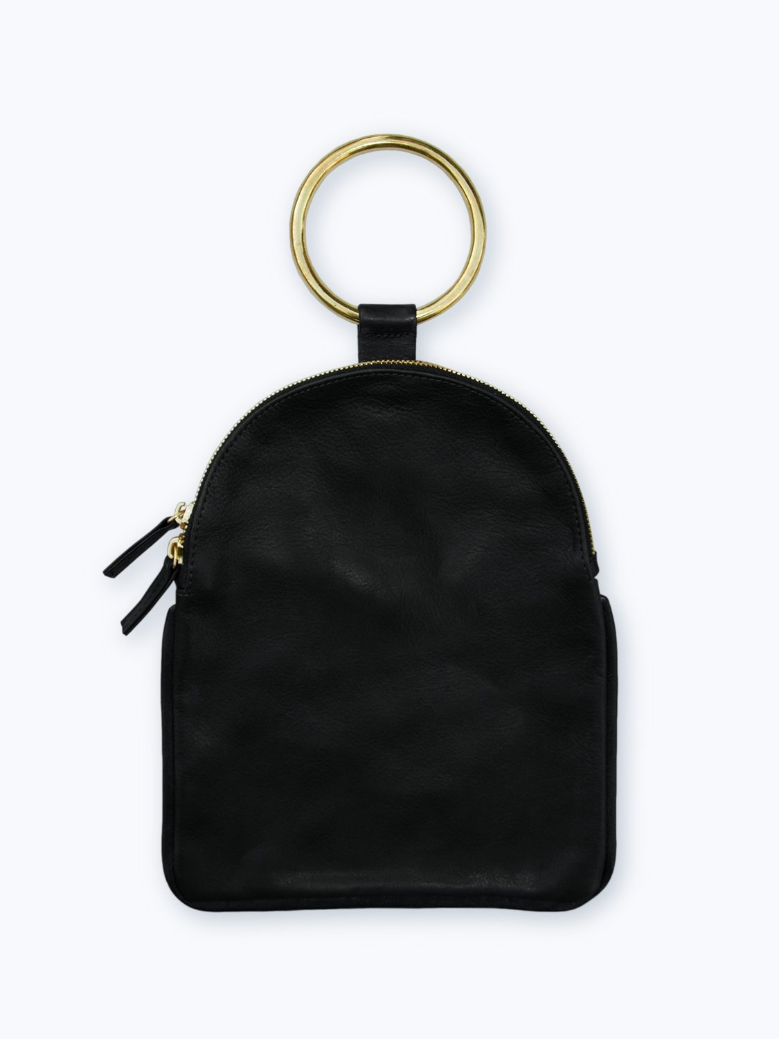 Black Ring Pouch Large