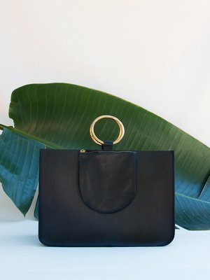 Black Ring Tote