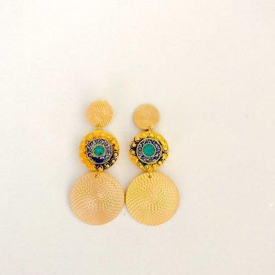 Nepalese Circle Earrings