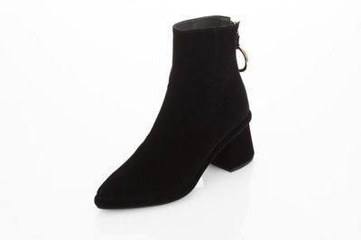 Ring Slim Boot Black Velvet