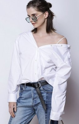 Show Off Your Shoulders Shirt - White