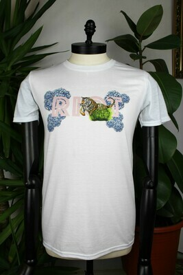 Riot floral Jumping Tiger Tee