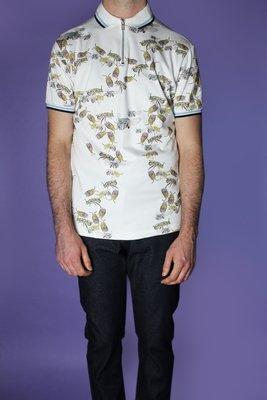 Bee Print Polo Shirt