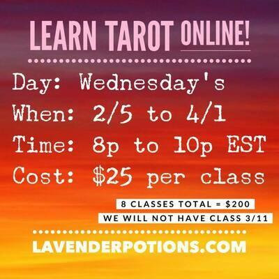 Intuitive Tarot - Online